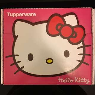 BNIB - Tupperware Hello Kitty Plates