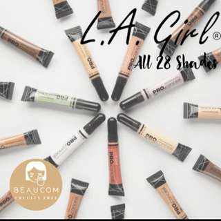 NEW INSTOCK AUTHENTIC LA GIRL HD PRO Conceal Liquid Concealer with Brush