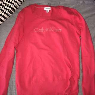 SALE Authentic Calvin Klein sweater