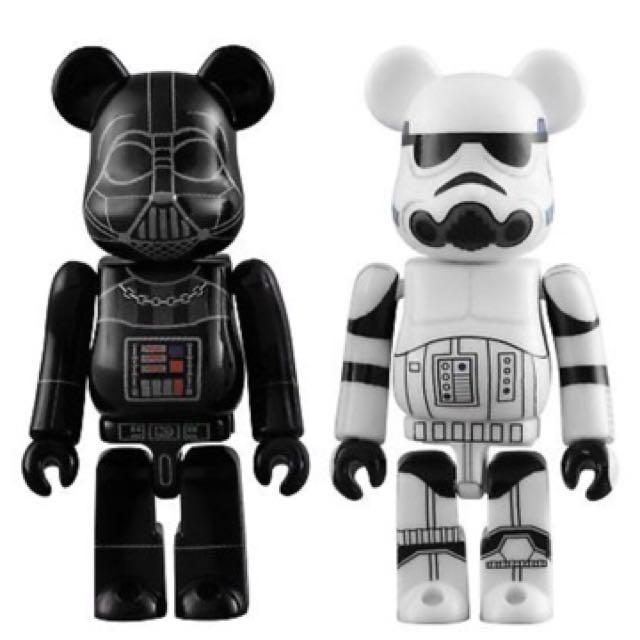 0d3a54b9 400% + 100% Starwars bearbrick be@rbrick set Darth Vader stormtrooper, Toys  & Games, Bricks & Figurines on Carousell