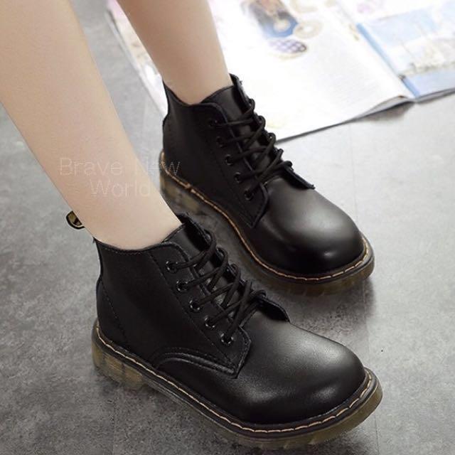 經典5孔馬丁鞋 馬丁靴 25號