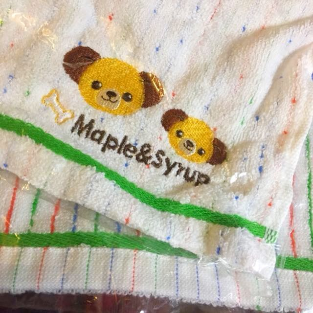 迪士尼大學熊布魯托父子毛巾