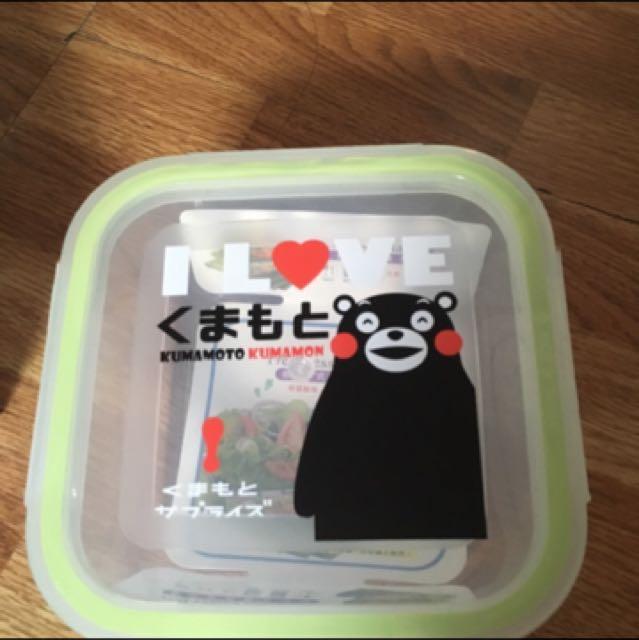 熊本熊保鮮盒