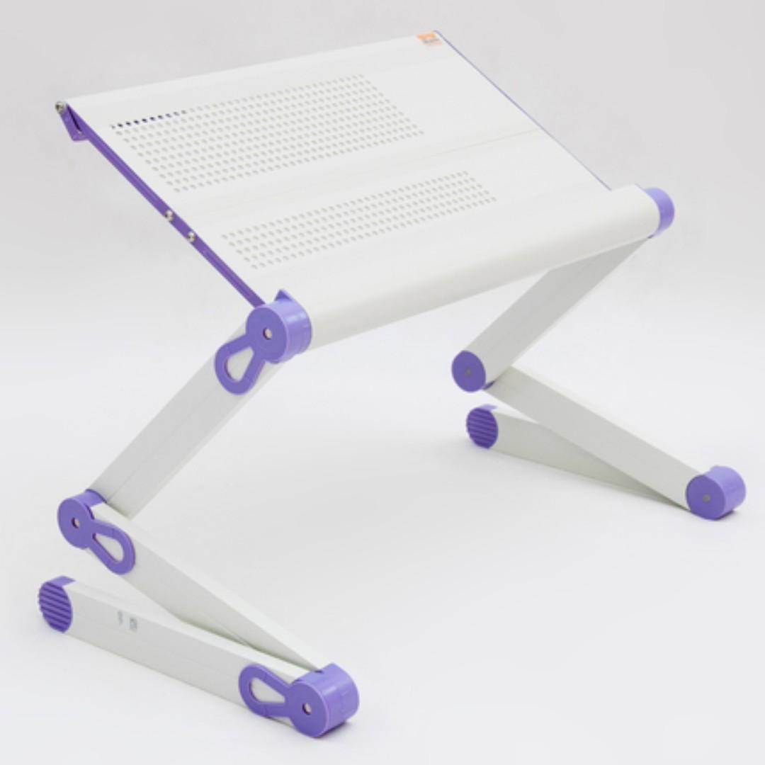 床上电腦桌 筆記型電腦桌 鋁合金電腦桌折叠電腦桌 床上桌 九成新~