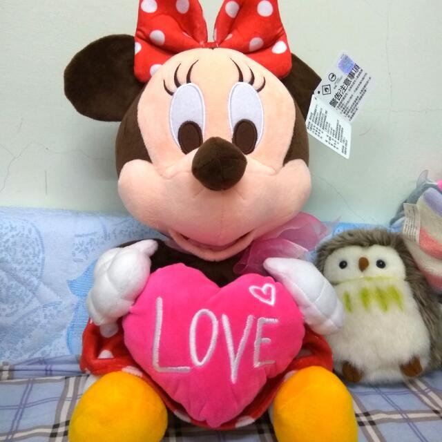 [特價]全新迪士尼正版授權 米奇米妮大玩偶 娃娃 情人節 求婚  生日禮物