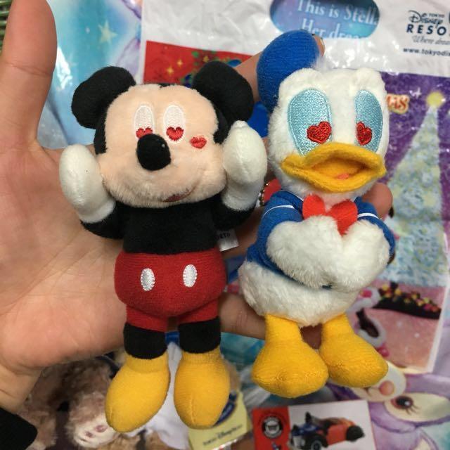 海洋迪士尼 米老鼠 米奇 唐老鴨 愛心眼睛 限定款 現貨