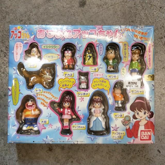 日本 甜蜜小天使 ひみつのアッコちゃん 漫畫家 赤塚不二夫 東映 BAN DAL 玩具 變身 公仔 絕版 稀有 稀少
