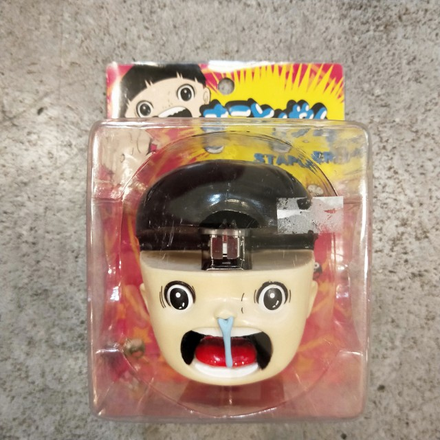 日本 阿誠 變身小童 KAZUO UMZEE 楳圖一雄 玩具 絕版 訂書機
