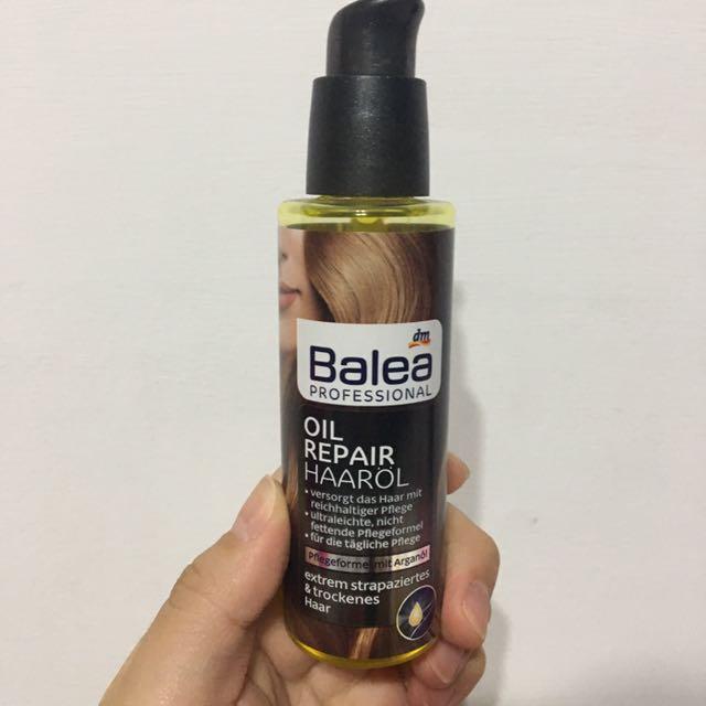 二手💡德國 balea 摩洛哥 堅果 護髮 髮油