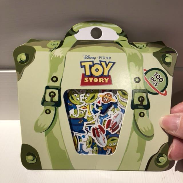 迪士尼 Disney 玩具總動員 之三眼怪 造型貼紙