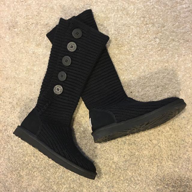 降‼️正品 UGG中長襪靴 羊毛靴
