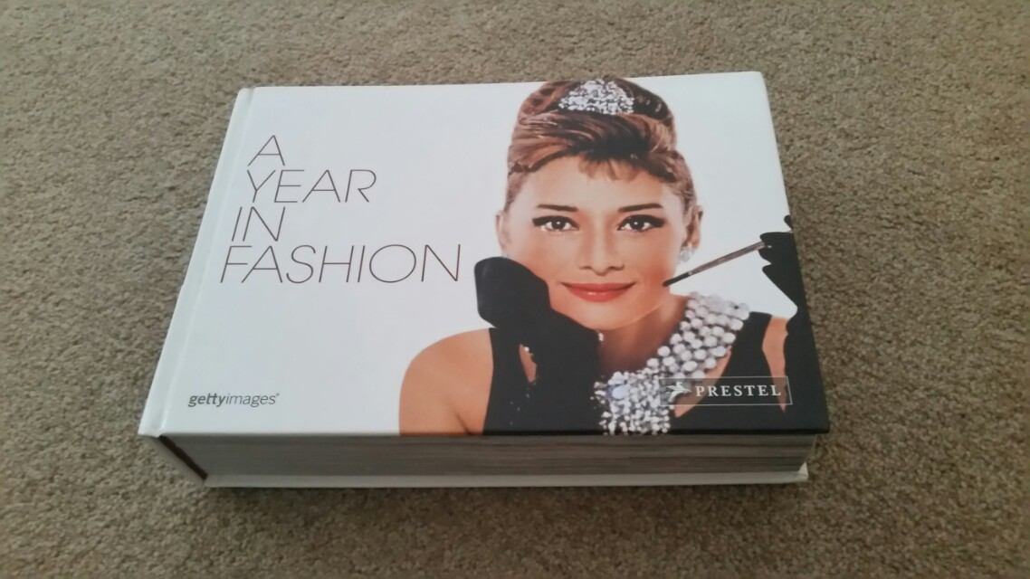 'A Year In Fashion' coffee table book / diary