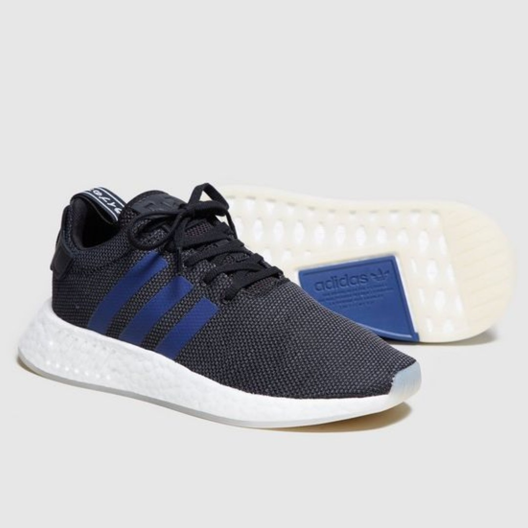 9e594a34faca9 Adidas NMD R2 W - Black Blue