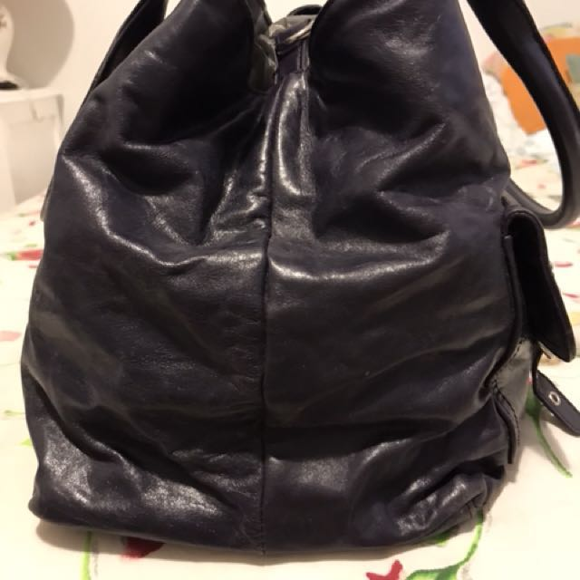 Alannah Hill vintage purple bag