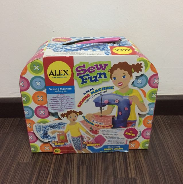 Alex Sew Fun Babies Kids Toys Walkers On Carousell Fascinating Alex Sew Fun Sewing Machine
