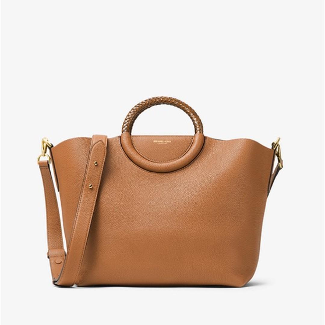 7d0bad6236d446 low cost authentic michael kors skorpios leather market bag acorn womens  53e59 8015a