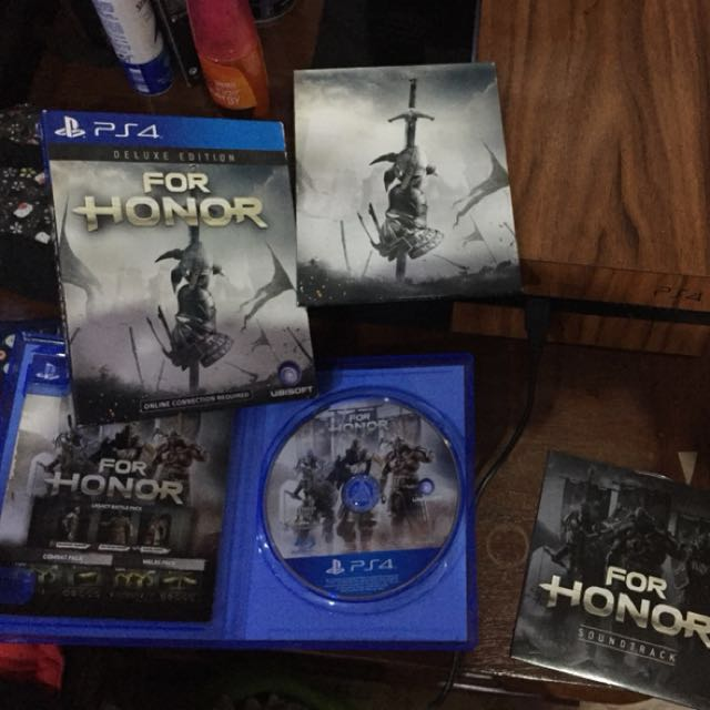 BD PS4 For Honor