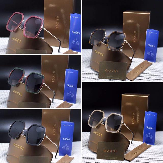 Best Seller 2017 || Sunglass GUCCI OVER LENS || Kacamata Hitam lensa ANTI UV protection