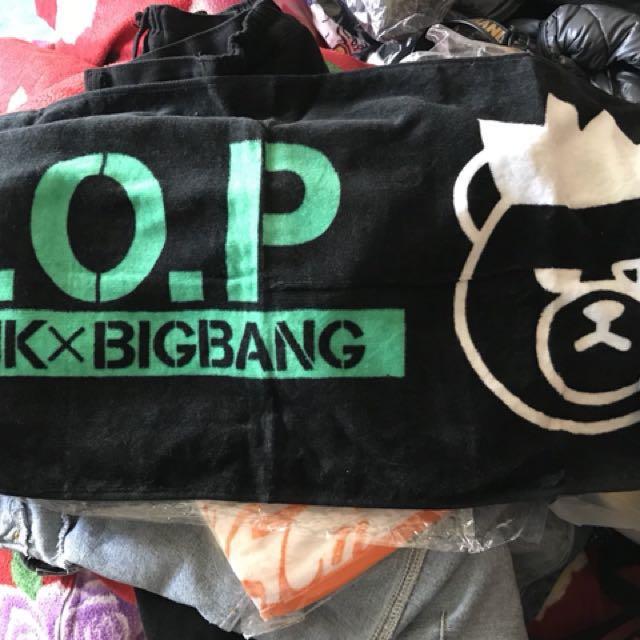 BigBang T.O.P 應援毛巾