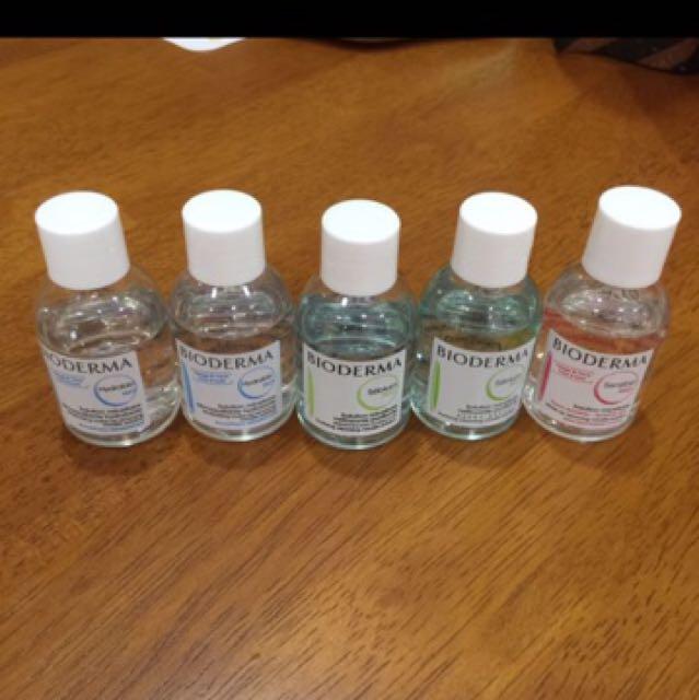 Bioderma makeup removing cleansing water