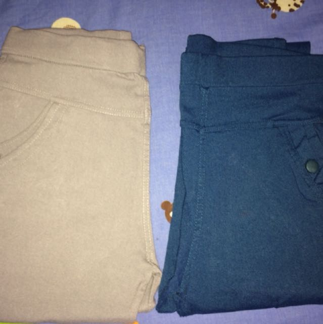 Blue or Gray pants