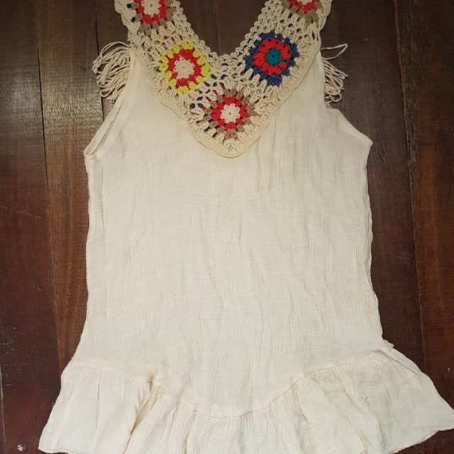 Boho / coachella top