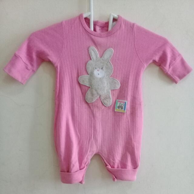 Buster Brown Pink Bunny Jumper