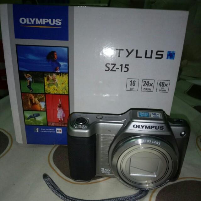 Camera Digital Olympus STYLUS SZ-15