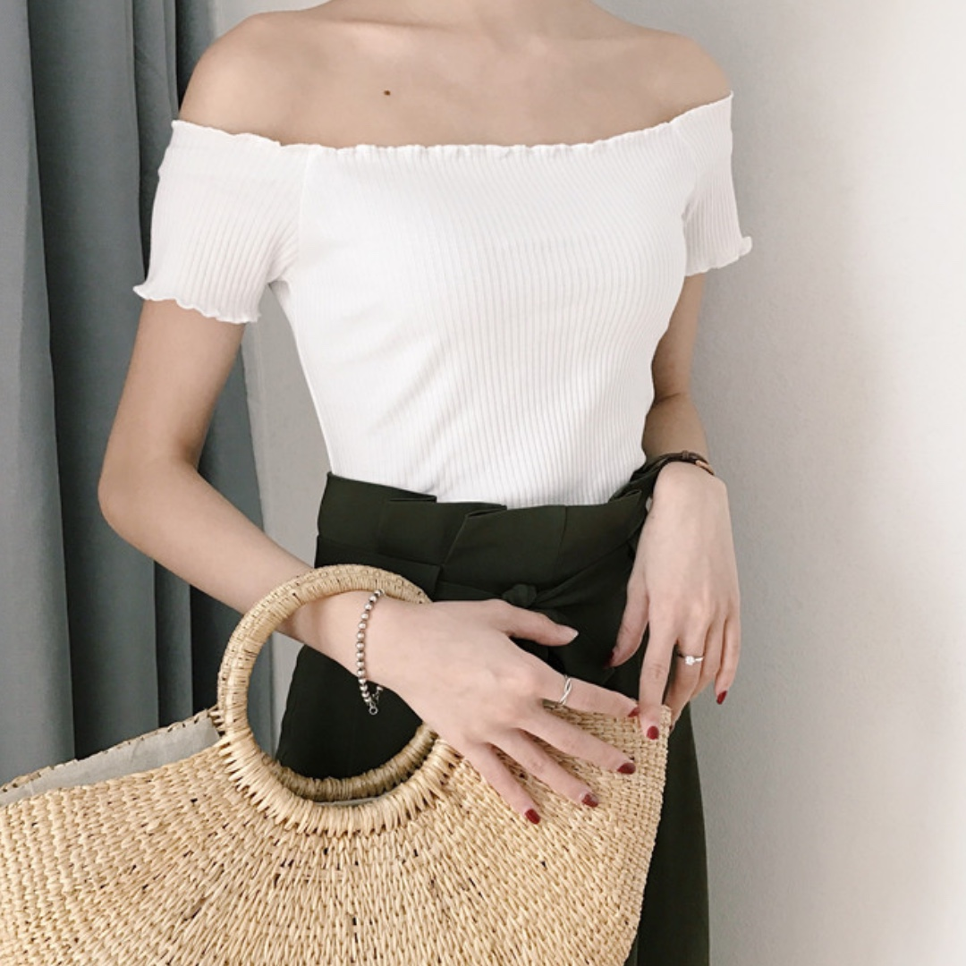 Chicly Off Shoulder Top
