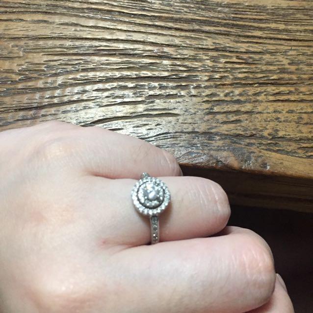 cincin zircon silver swarovski