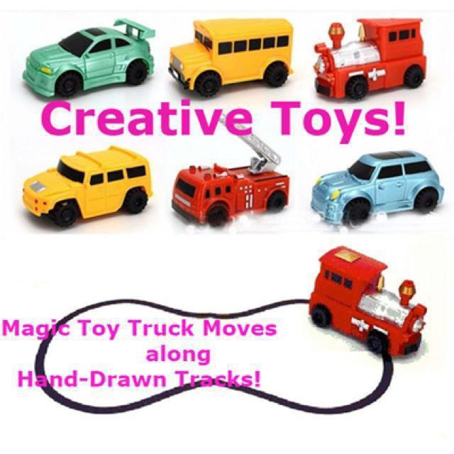 🔥Clearance! Magic Pen Tracks Sensor Toy Car 🚗 Draw Your Own Track ...