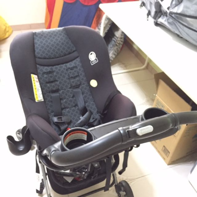 Cosco Scenera NEXT Car Seat And Snap N Go Stroller Frame Babies Kids Strollers Bags Carriers On Carousell