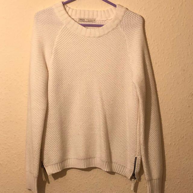 Cream Bershka Knitwear
