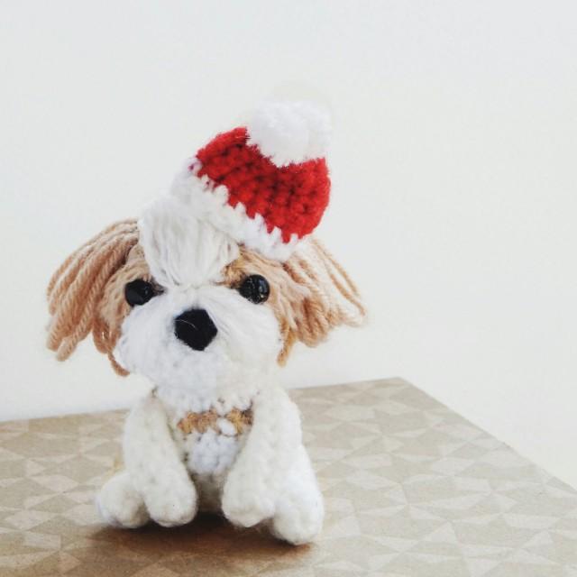 Crochet shihtzu