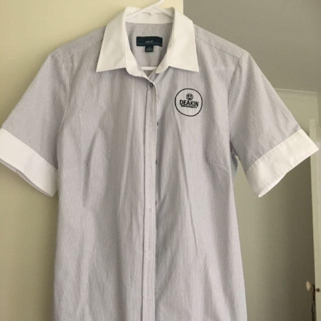 Deakin nursing uniform top and pants