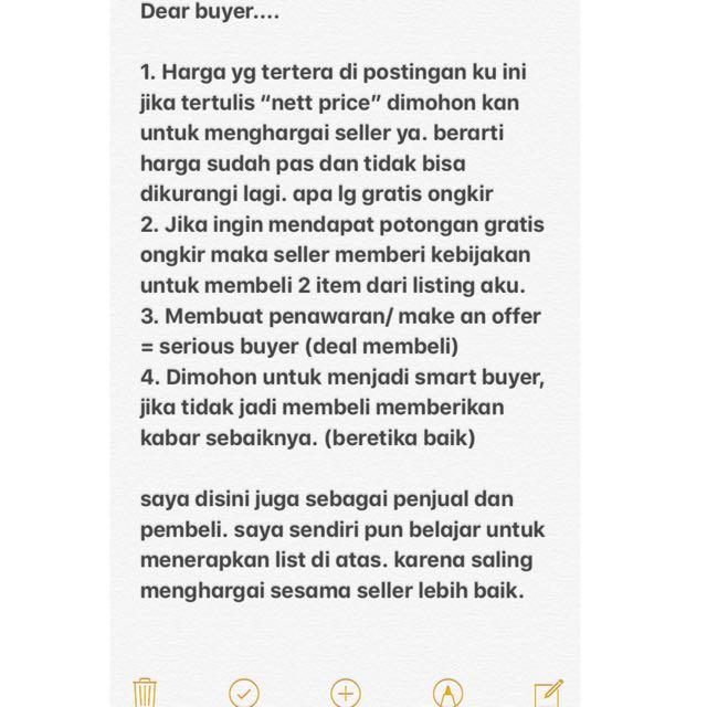 dear buyer