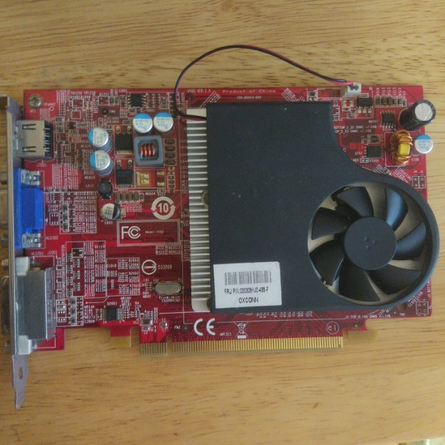 Defective - AMD Radeon HD4600 series Graphics Card, Electronics, Computer  Parts & Accessories on Carousell