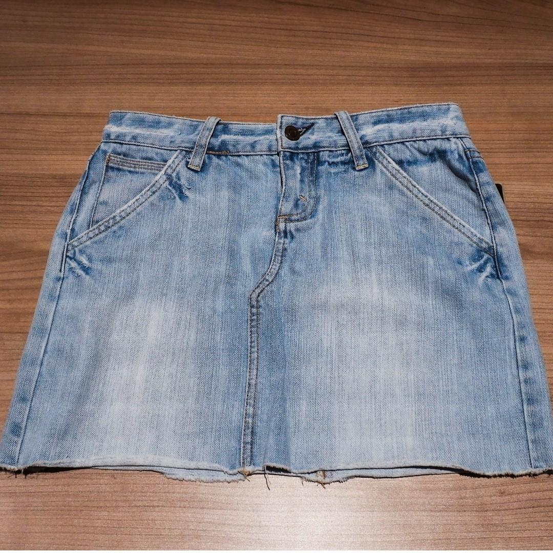 """Denim Skirt (25-26"""")"""