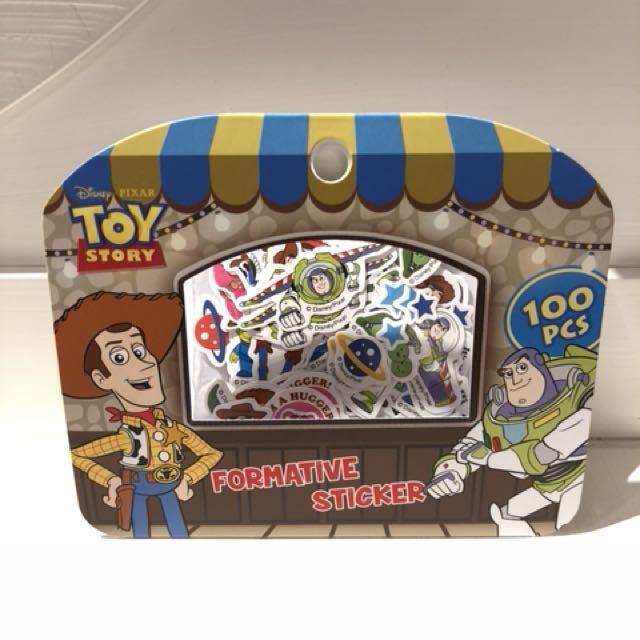 Disney 迪士尼 玩具總動員 造型 小貼紙