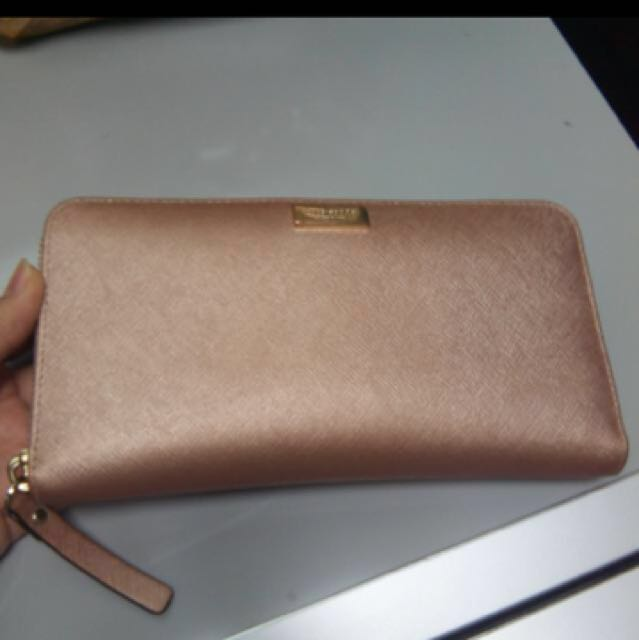 Dompet Authentic Kate Spade Gold