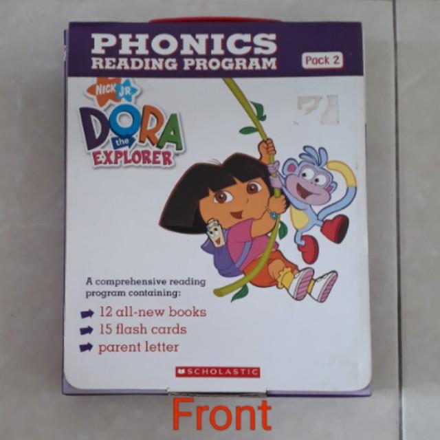 dora the explorer phonics reading program book 2 books stationery