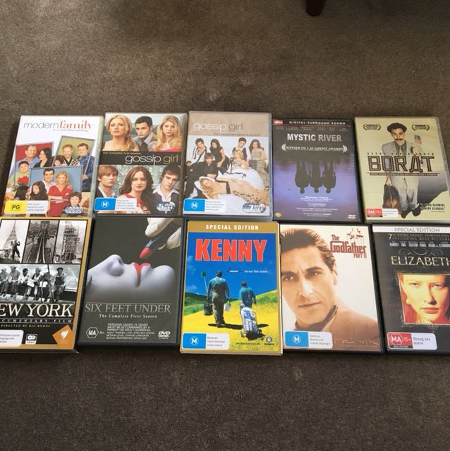 DVDs $2