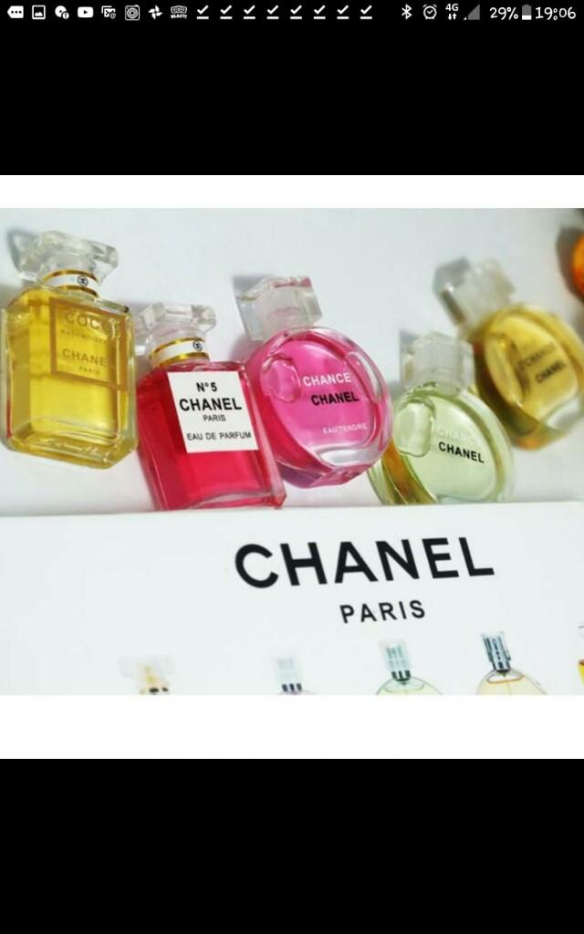 Exlusive Limited Edition Chanel Miniature Perfume Set Health