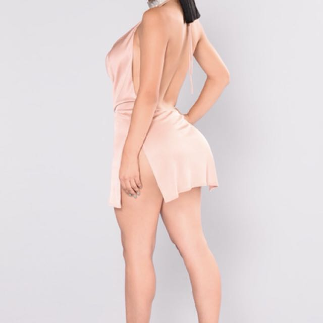 Fashion Nova Peek-a-boo Dress
