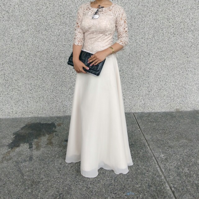 Formal Filipiniana Gown, Women\'s Fashion, Clothes on Carousell