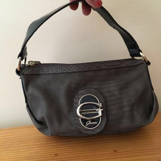 Guess small leather bag