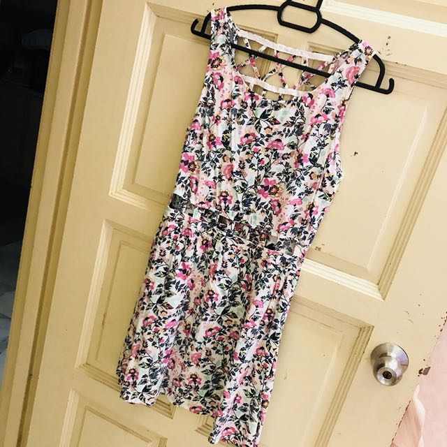 H&M dress with cutout design