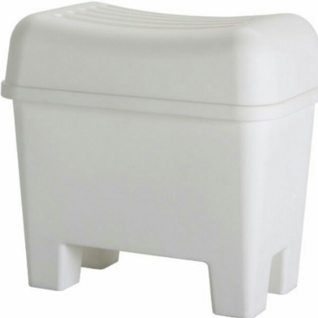 Ikea stool storage