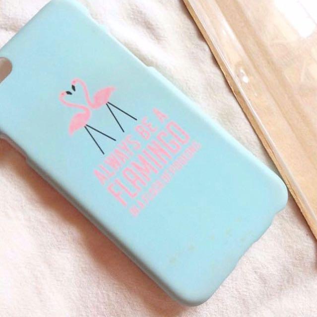 [🚩INC POS - TYPO] Typo Flamingo IPhone 6 Case.