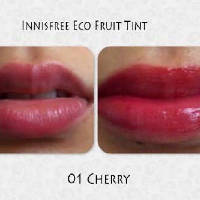 INNISFREE ECO FRUIT LIPTINT 01 CHERRY
